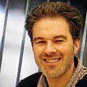 Christophe Lucas, dirigeant de l'agence de communication Des ronds dans l'eau, à Trégueux (22)