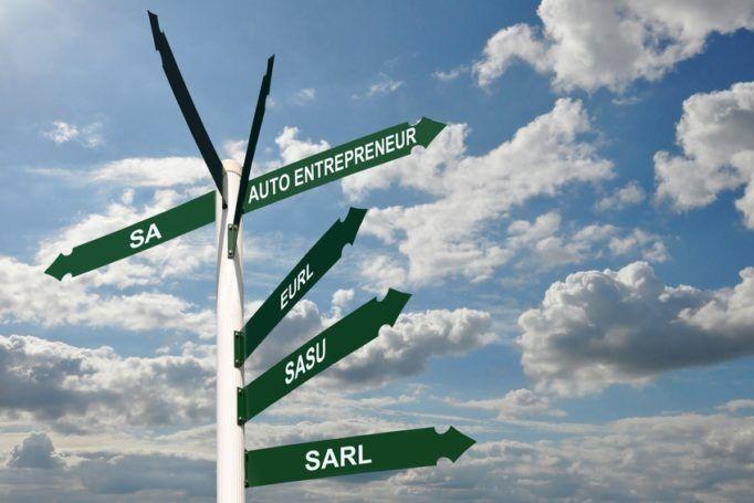 Les statuts choisis pour la création d'entreprise