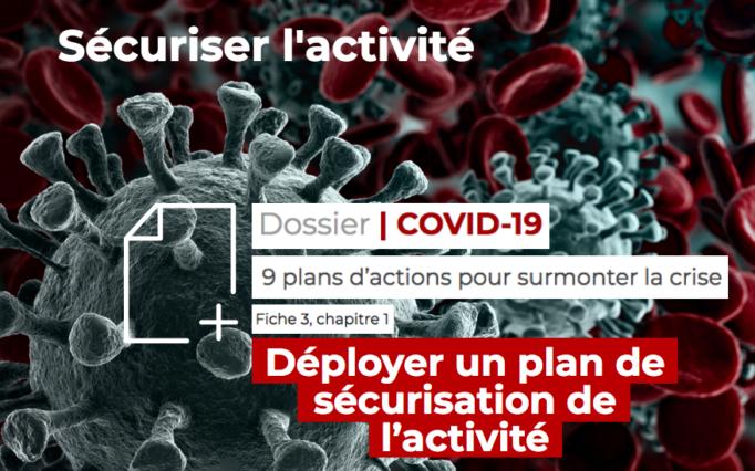 [Dossier Covid-19] Déployer un plan de sécurisation de l'activité