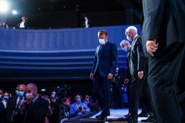 Sortie de crise : « Si de nombreux voyants sont au vert, des préoccupations demeurent » (E. Macron)